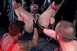 Adam Ramzi, David Benjamin, Dirk Caber, Dolan Wolf, Nick Prescott in Fist & Piss Masters by