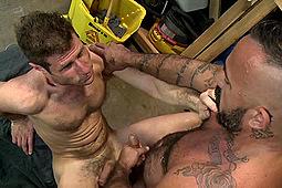 Alessio Romero, Luke Ewing in Luke Ewing Bottoms for Alessio Romero by