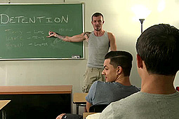 Ethan Slade, Jimmie Slater, Lance Bar in Dicking Around In Detention by