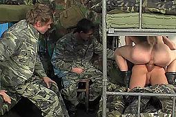 in Raw Combat: Barracks Scene by